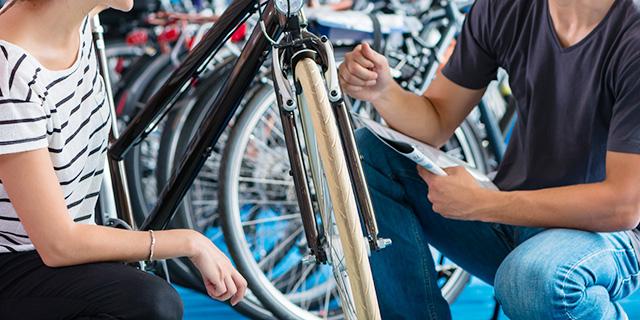 自転車を売る