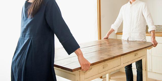 木製テーブルを処分
